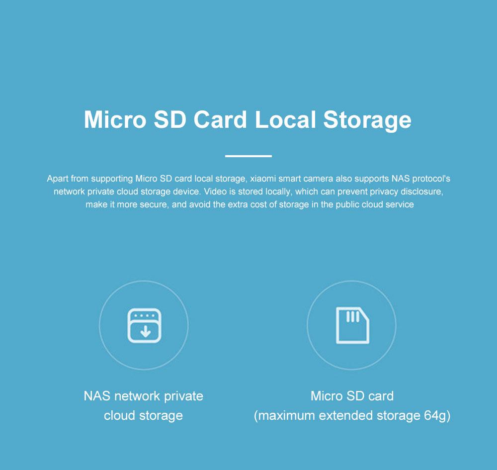 Xiaomi Wireless Smart Camera 1080P Home Monitoring Micro Infrared Night Vision HD Camera Security Camera Baby Monitor 8