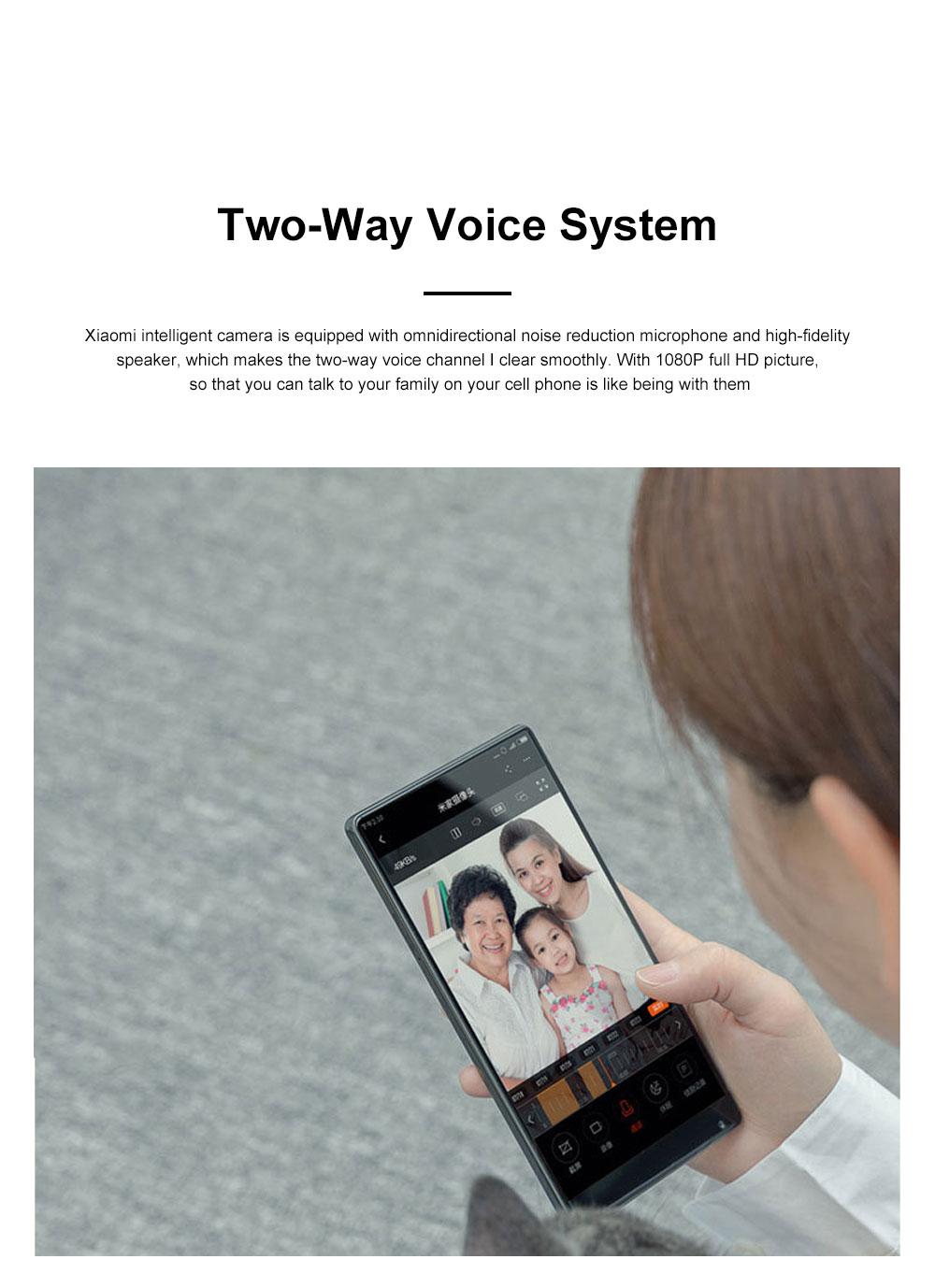 Xiaomi Wireless Smart Camera 1080P Home Monitoring Micro Infrared Night Vision HD Camera Security Camera Baby Monitor 9