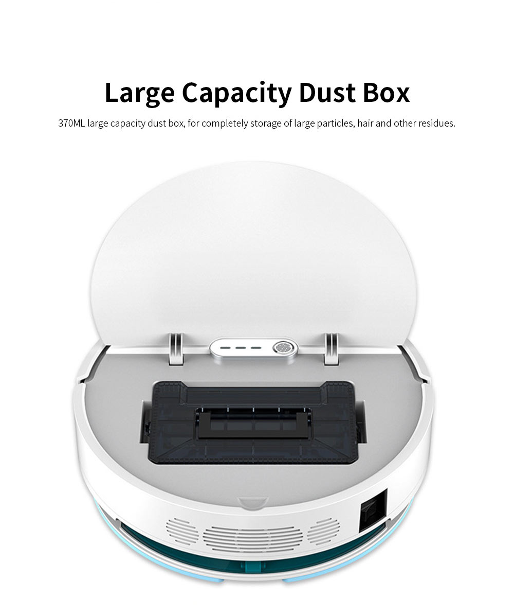 Sweeping Robot Automatically Recharge Cleaner with 1200Pa Strong Suction Remote Control Anti-Collision Sensor for House Cleaning 11