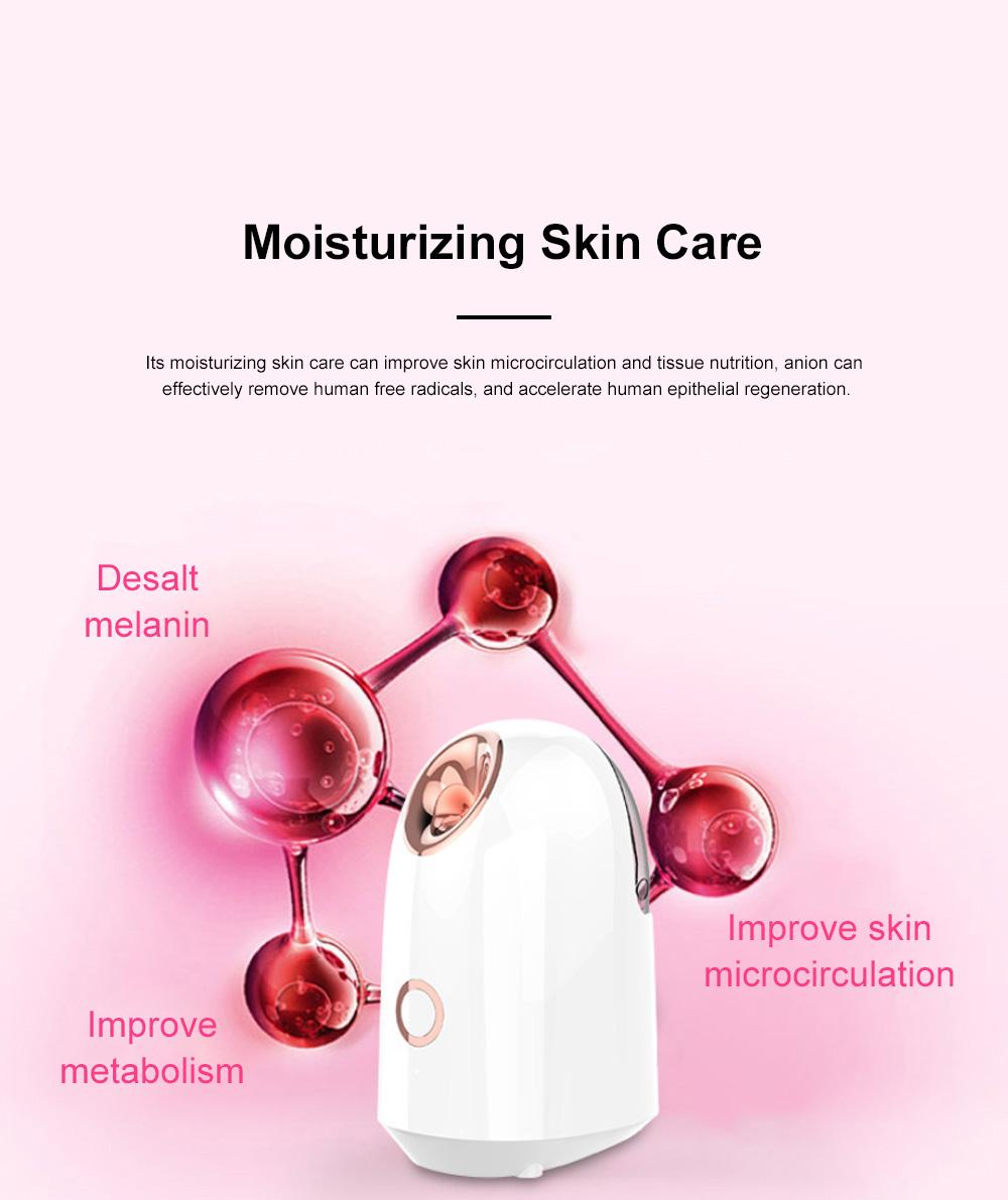 Nanometer Ion Moisturizer Household Steamer Moisturizer Thermal Spray Steamer Cosmetology Instrument Facial Moisturizer 1