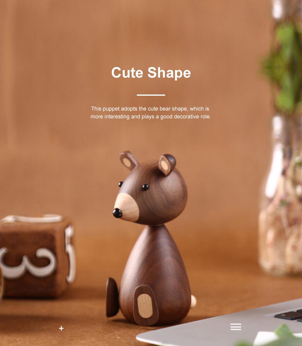 Nordic Creative Puppets Walnut Bears Danish Squirrels Creative Home Furnishings Birthday Gifts 2