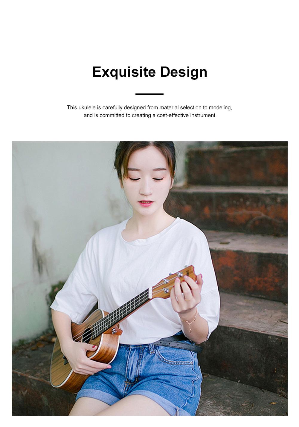 Originality Ukulele Four String 23 inch Guitar with High Level Rose Wood & Head Easy Leaning Ukulele Gift for Beginner 7