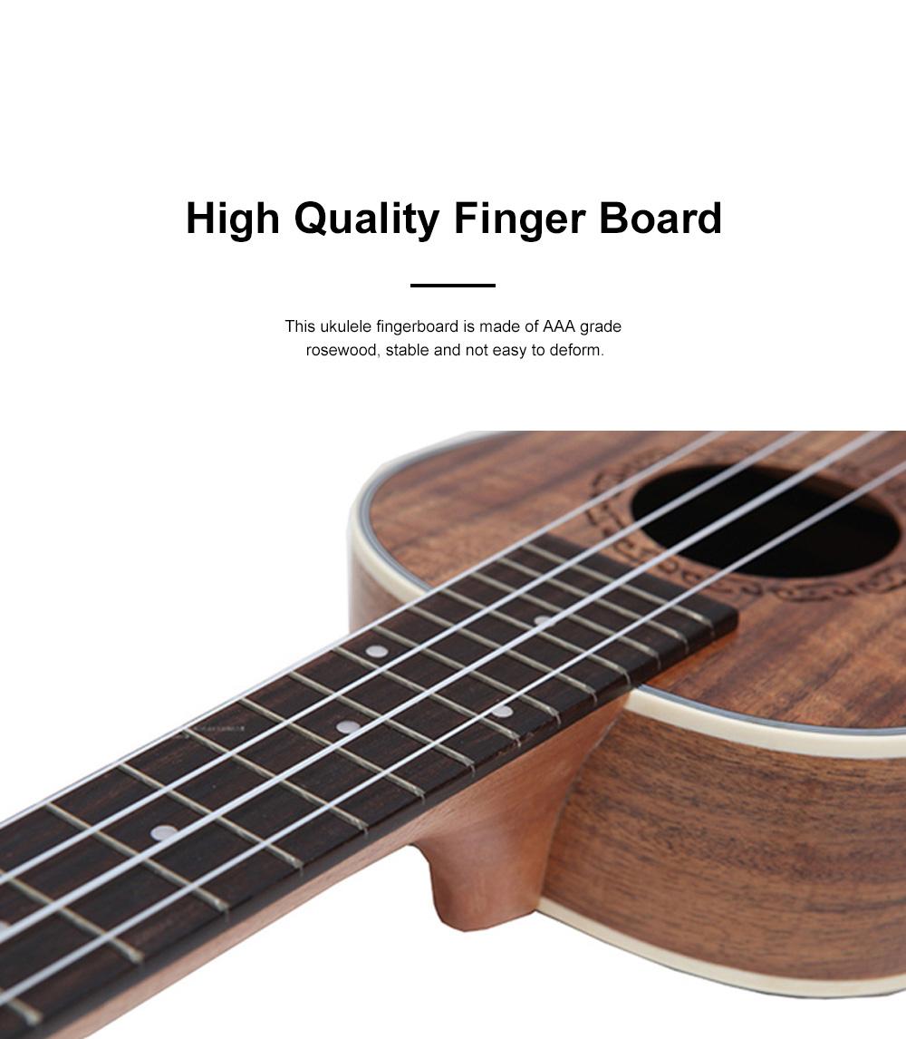 Originality Ukulele Four String 23 inch Guitar with High Level Rose Wood & Head Easy Leaning Ukulele Gift for Beginner 3