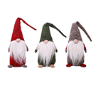 Christmas Old Man Faceless Stand Doll Toy