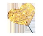 LED Star Heart Night Lamp