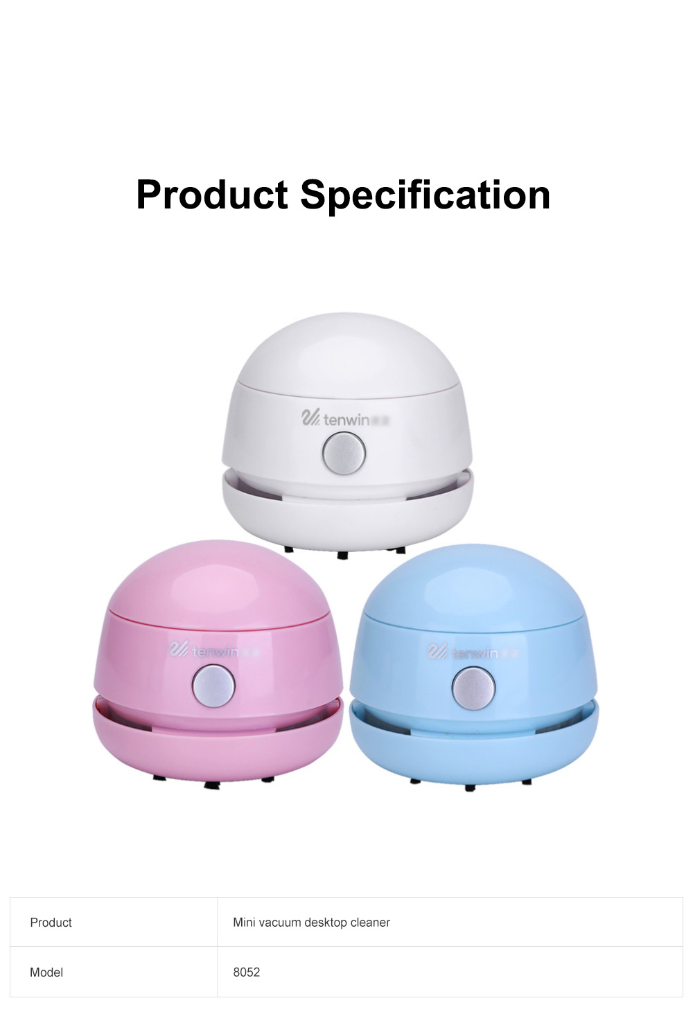 Mini Vacuum Cleaner Desktop Office Cleaner Easily Inhaled Paper Dust Suction Strong And Convenient 8