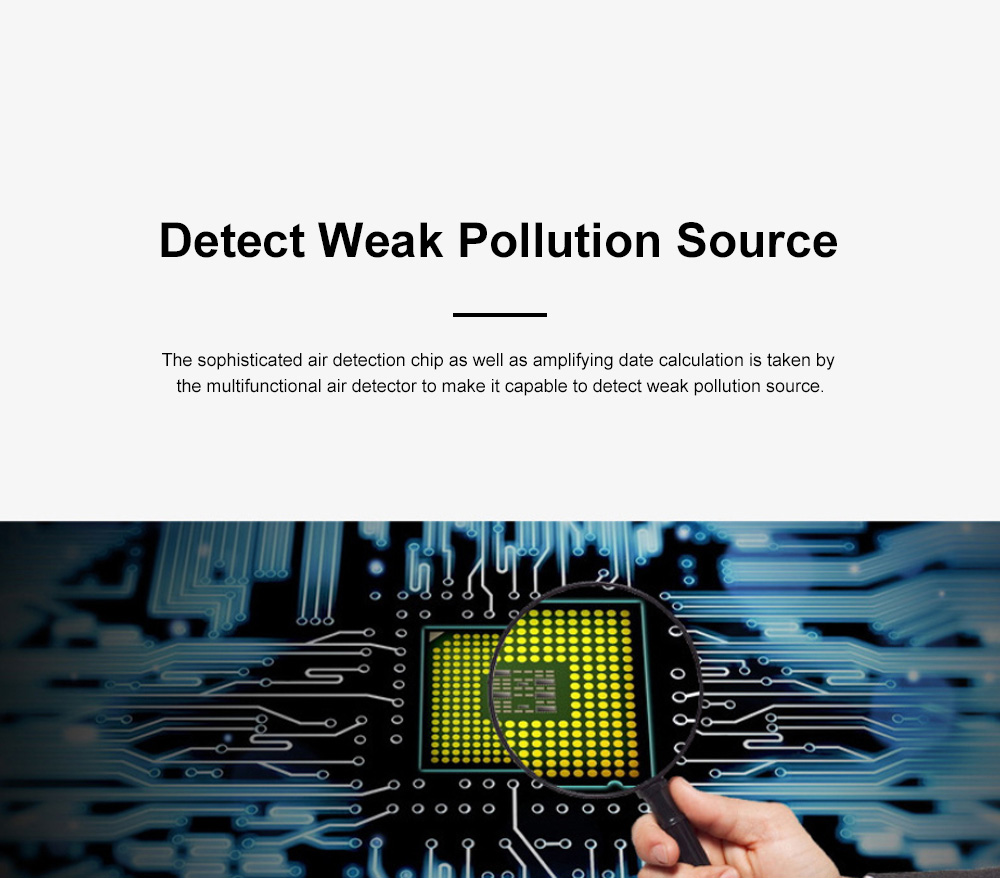 Multifunctional Air Detector for Family Use Indoor Professional Air Quality Detecting Instrument Formaldehyde Measuring Instrument 6