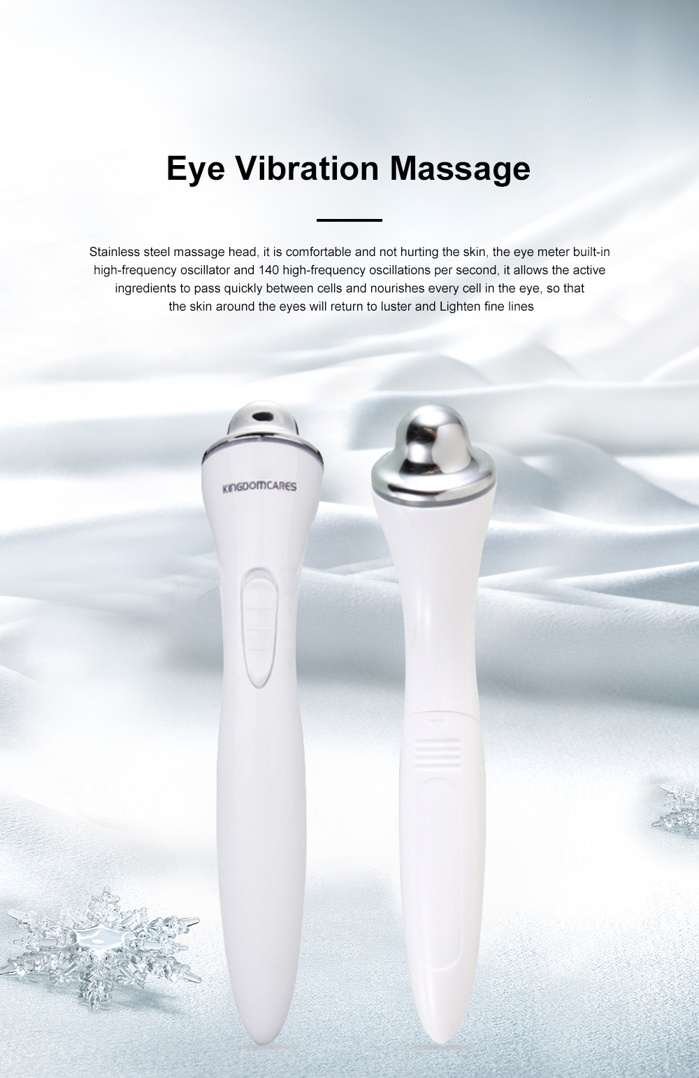 2019 Facial Eye Vibration Massage Lighten Dark Circles and Remove Under-eyes Bags Beauty Products for Women 0