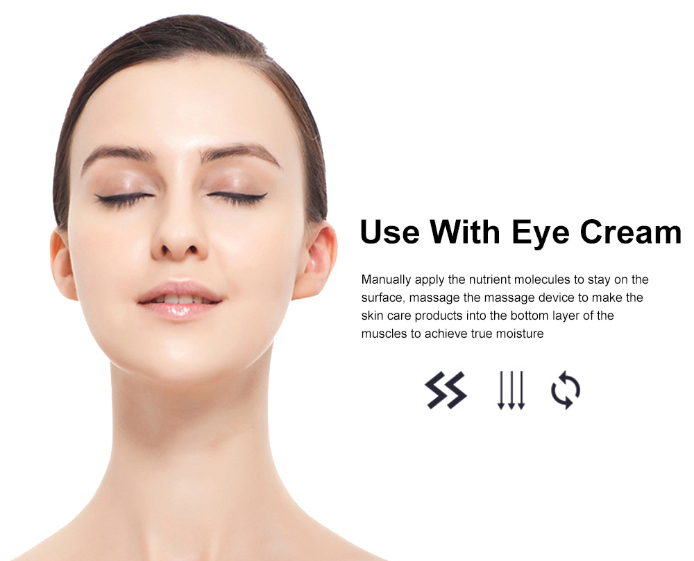 2019 Facial Eye Vibration Massage Lighten Dark Circles and Remove Under-eyes Bags Beauty Products for Women 9