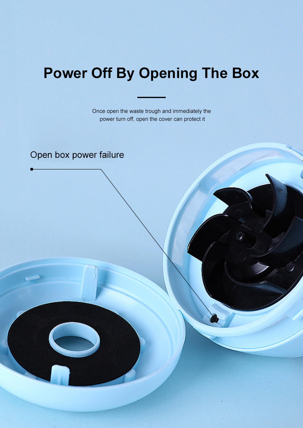 Mini Vacuum Cleaner Desktop Office Cleaner Easily Inhaled Paper Dust Suction Strong And Convenient 5
