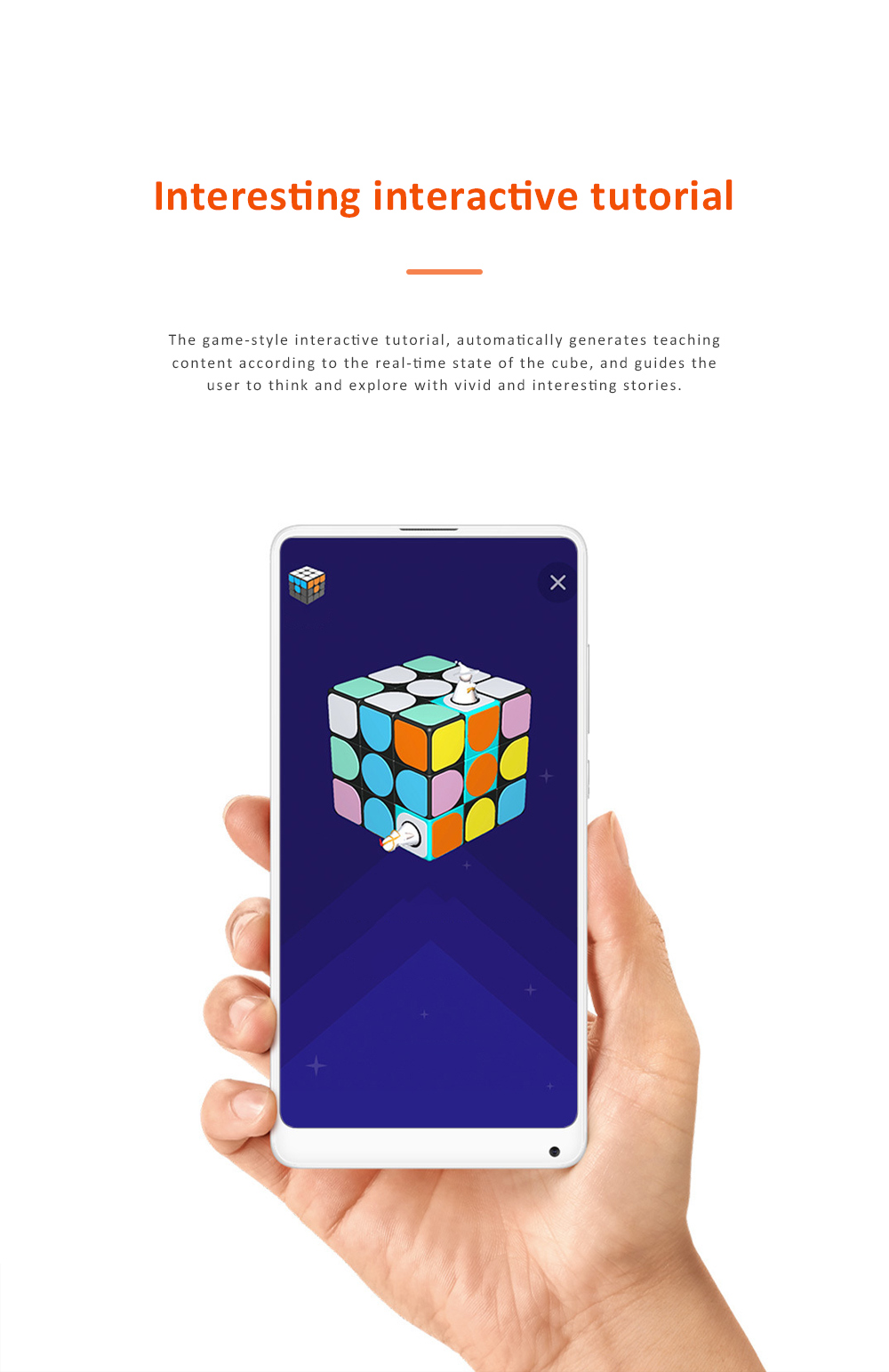 MI GIIKER Intelligent Super Cube Smart Magic Cube with Bluetooth Connection Real-time Sync for Education and Playing 1