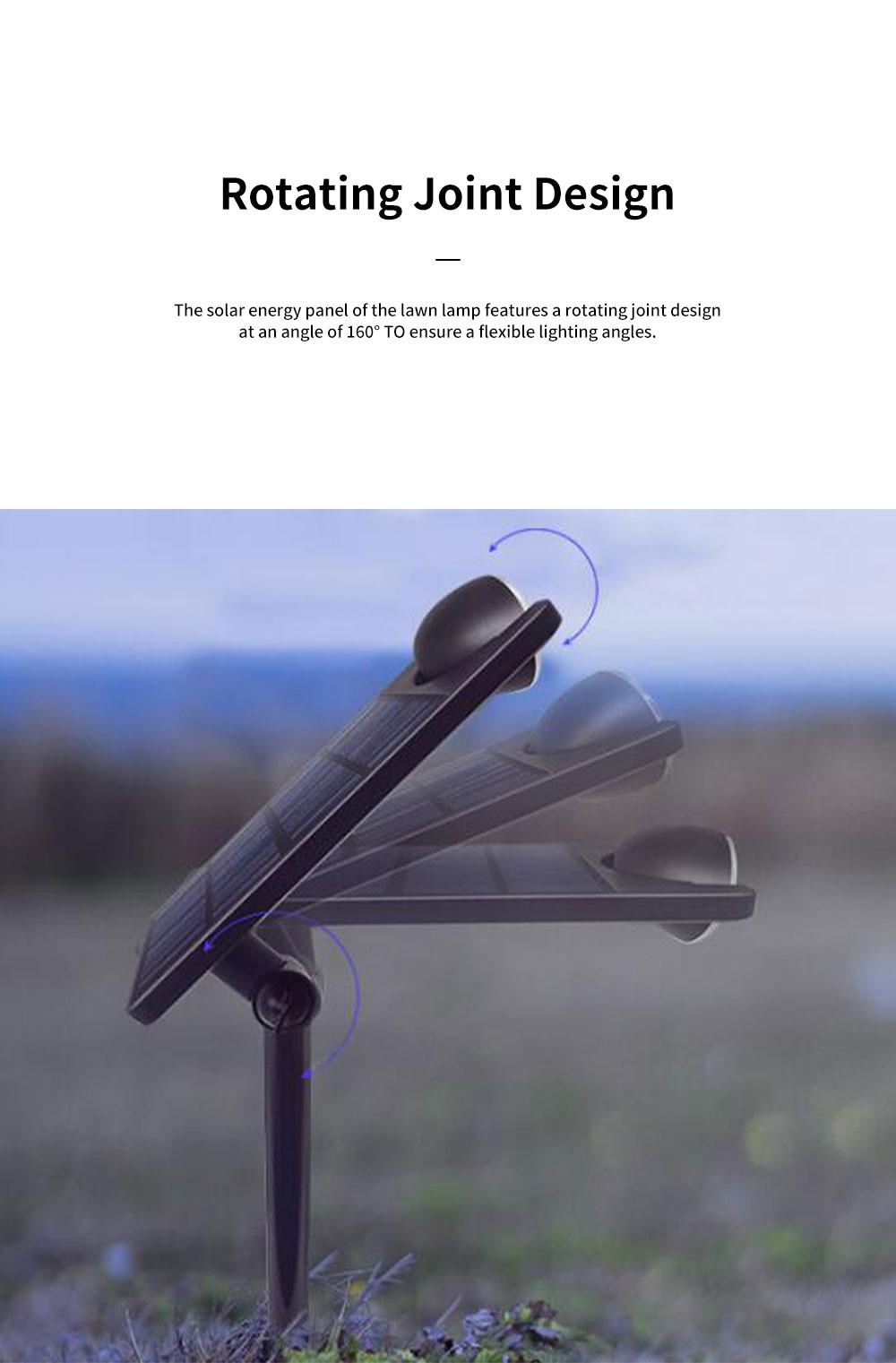 Solar Energy Ultra Thin Wall Lamp for Lawn Lighting Decoration Body Sensing Flat Panel Lawn Light Ultrathin Waterproof Lawn Lamp 6