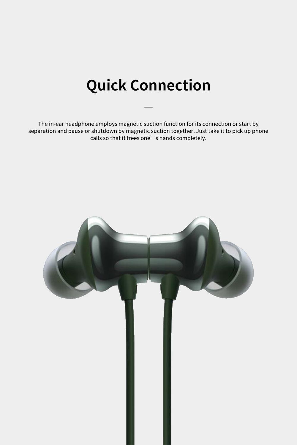 ONEPLUS Bullet Wireless 2 In-ear Headphone for Music Listening Phone Calling Warp Charge and Quick Connection Bluetooth Earphone 2