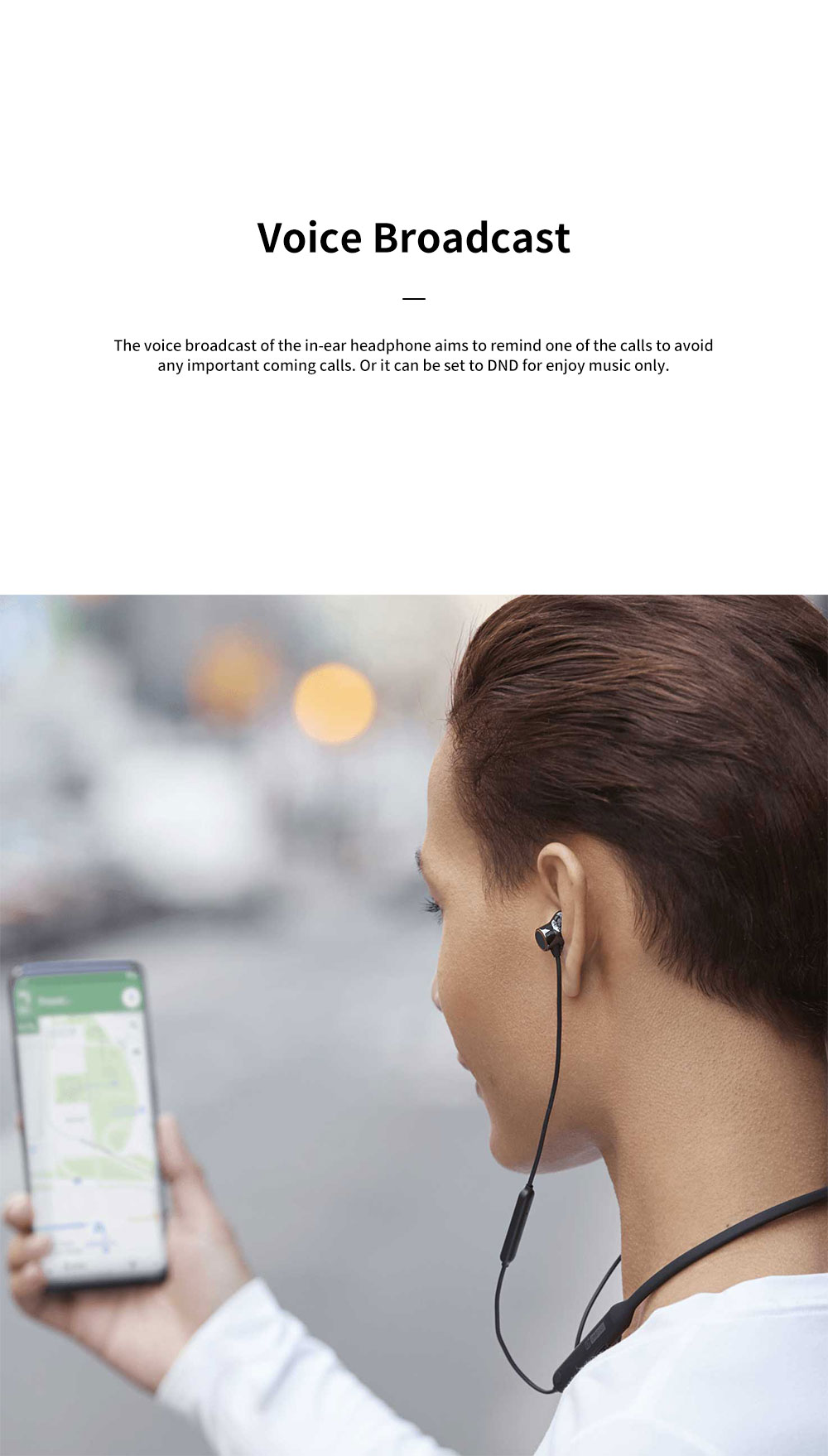ONEPLUS Bullet Wireless 2 In-ear Headphone for Music Listening Phone Calling Warp Charge and Quick Connection Bluetooth Earphone 9