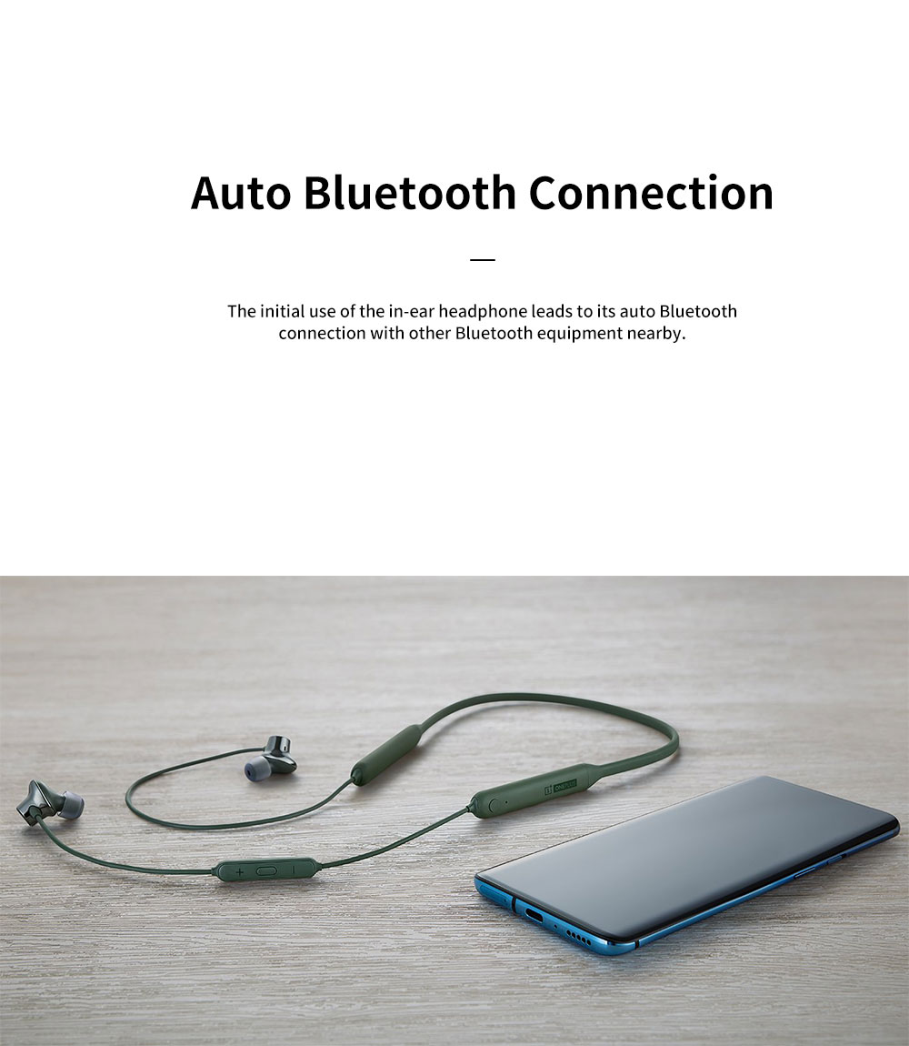 ONEPLUS Bullet Wireless 2 In-ear Headphone for Music Listening Phone Calling Warp Charge and Quick Connection Bluetooth Earphone 4