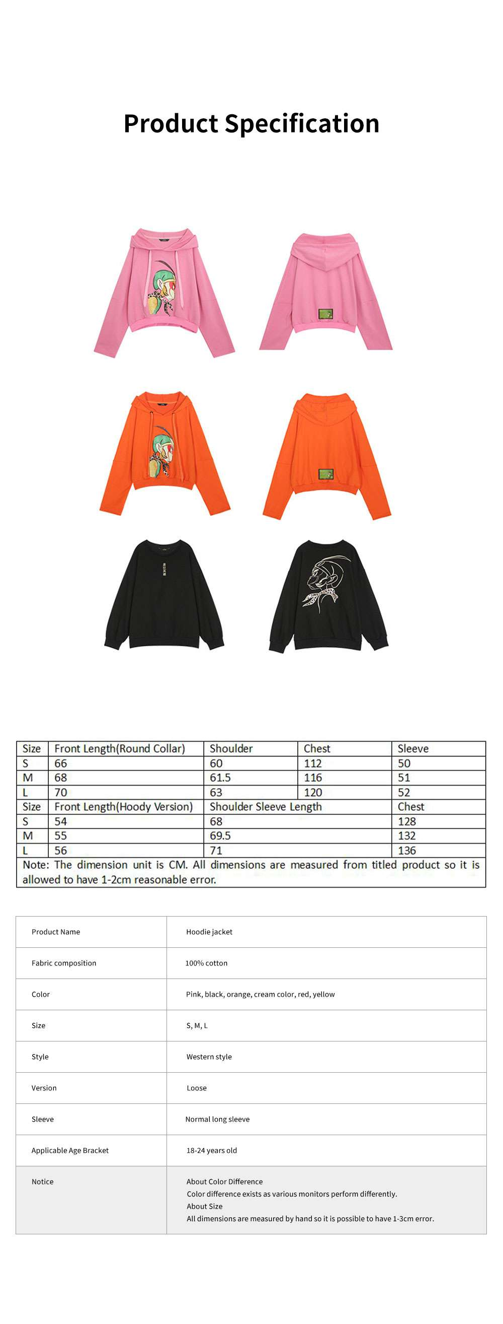 ELFSACK Embroidery Super Hero Hoodie Jacket Fashionable Long Sleeve Coat for Lady Wear Cotton Hoodie Jacket Spring Autumn Winter 6