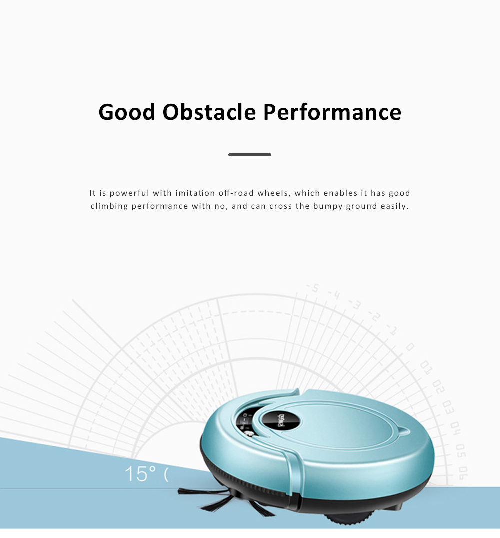 Home Cleaning Robotic Machine Vacuum Cleaner with 1200Pa Ultra Strong Suction and 1500mAh Battery for House cleaning and Air Purifying 11