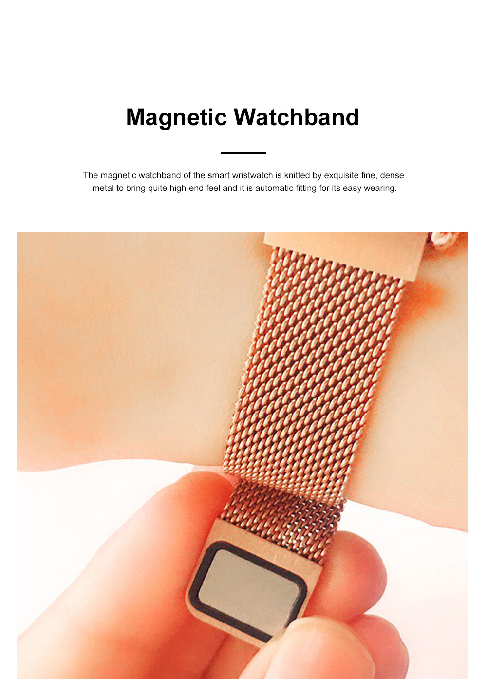 Multifunctional Smart Wrist Watch for Women Daily Wear Fashionable and Smart Bracelet Bluetooth Colorful Screen Wristwatch 1