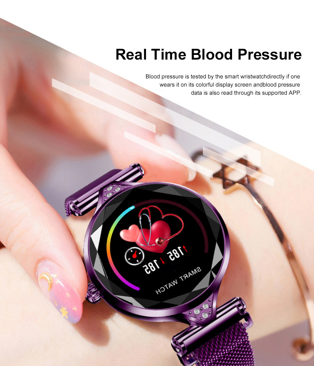 Multifunctional Smart Wrist Watch for Women Daily Wear Fashionable and Smart Bracelet Bluetooth Colorful Screen Wristwatch 10