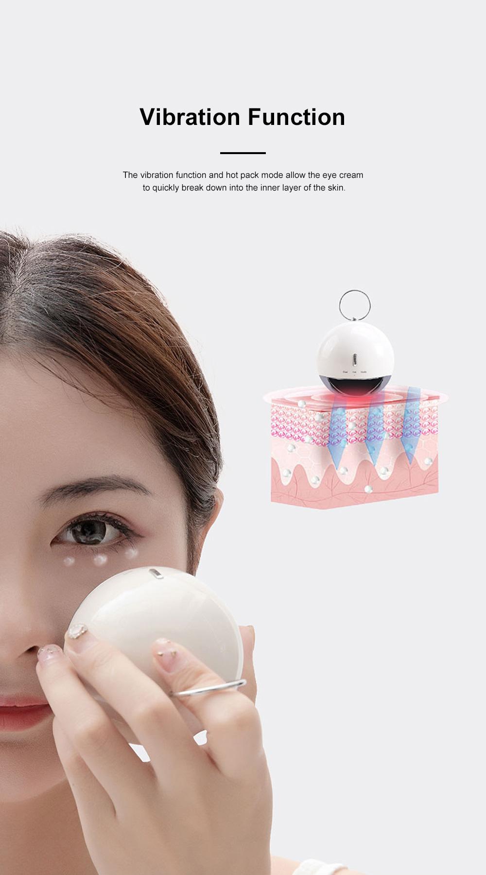 MIPOW Eye Massage Machine Portable Long Endurance Remove Black Circle Wrinkles Hot Cold Compress Dual Modes Vibration Eyes Massager 4