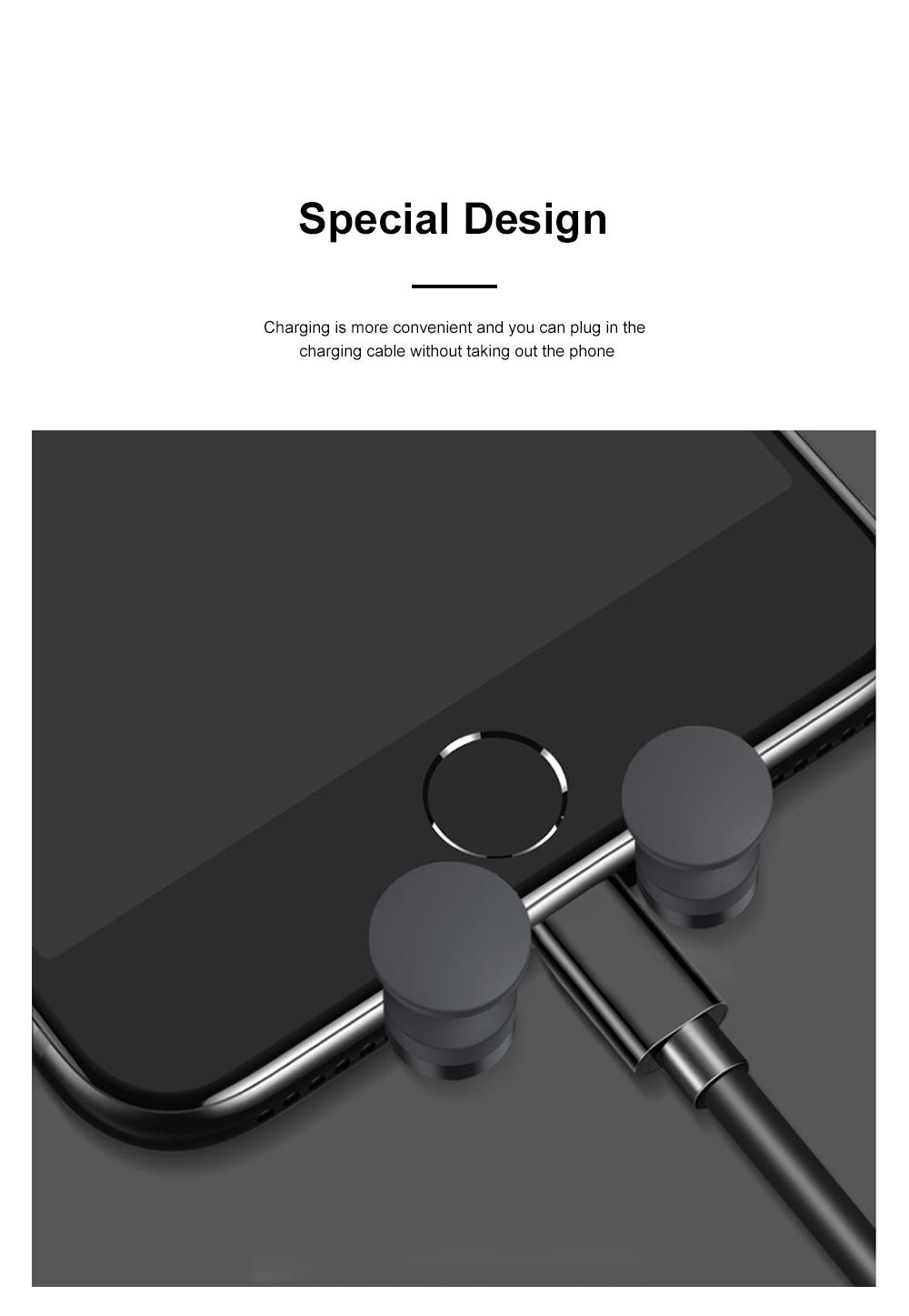 Suitable For iPhone X XR XS MAX Samsung S8 S9 Car Vent Phone Holder Navigation Mobile Bracket Car Gravity Bracket 5
