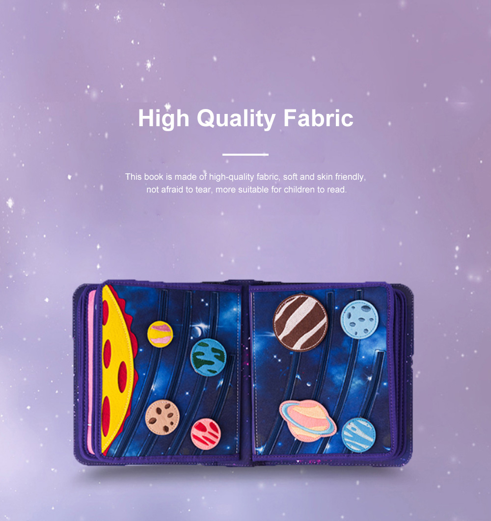 MY FIRST BOOK Space Book Limited Edition Children's Early Education Book Three-dimensional Cloth Book 4