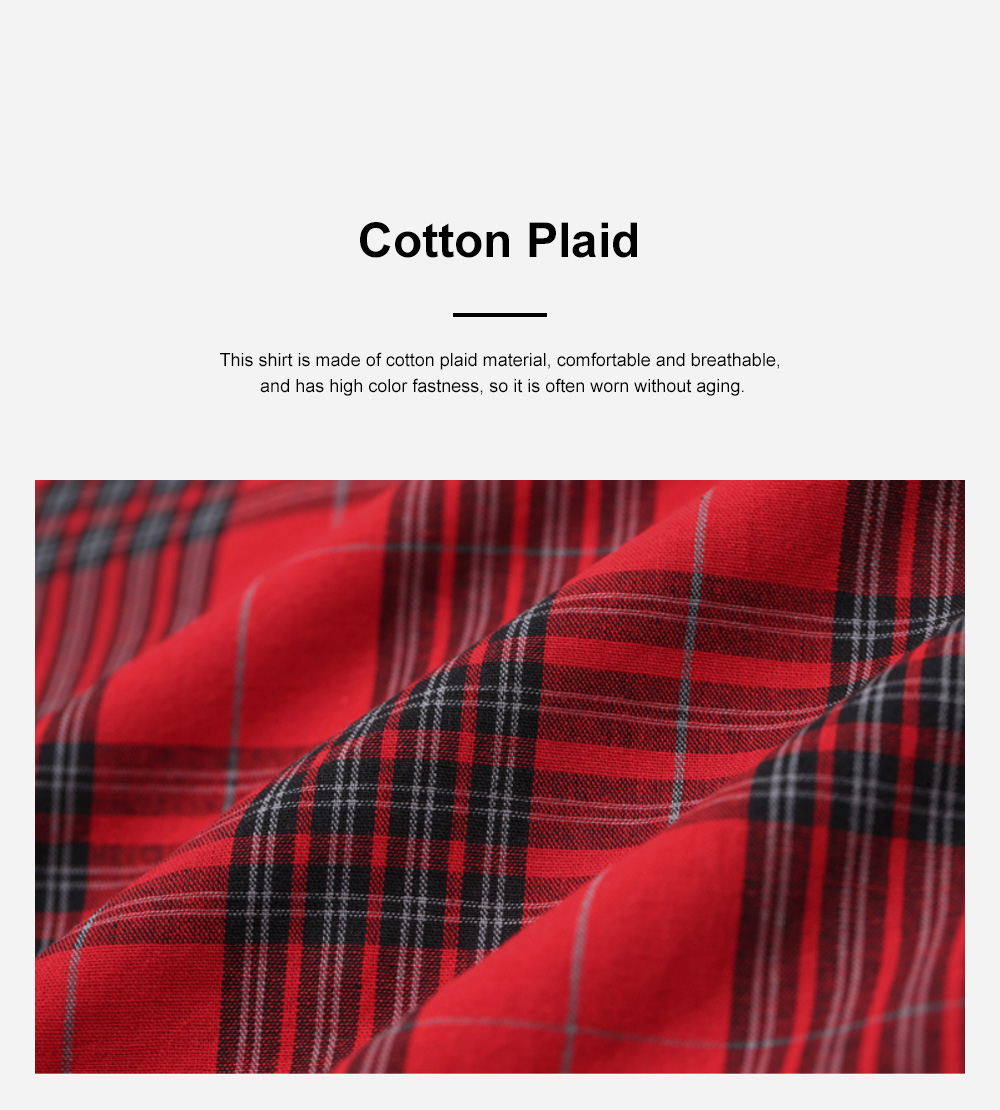 ELF SACK Plaid Shirt for Women Retro Style Women's Shirt New Korean Student Bubble Sleeve Top 2019 New 5