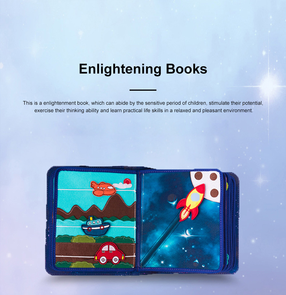MY FIRST BOOK Space Book Limited Edition Children's Early Education Book Three-dimensional Cloth Book 3