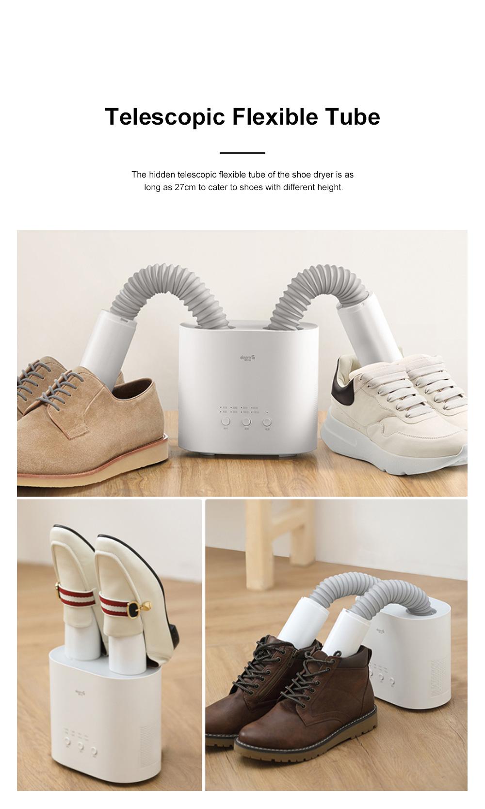 DEERMA Multiple-effect Shoe Dryer for Family Use Deodorizing and Sterilizing Drying Machine Multifunctional Telescopic Shoe Dryer 9