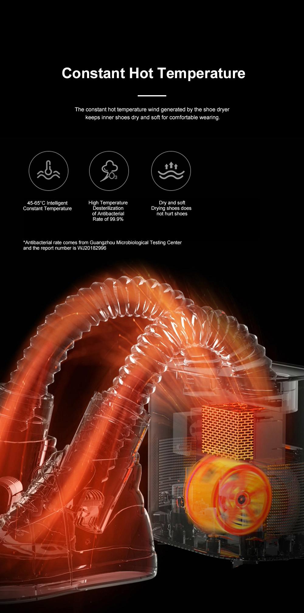 DEERMA Multiple-effect Shoe Dryer for Family Use Deodorizing and Sterilizing Drying Machine Multifunctional Telescopic Shoe Dryer 6