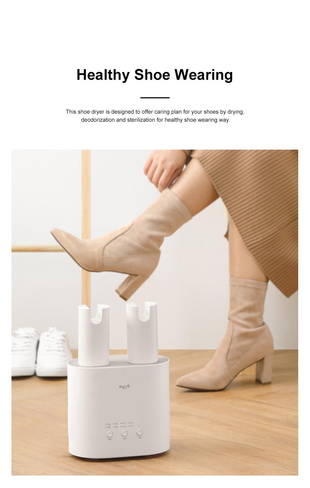 DEERMA Multiple-effect Shoe Dryer for Family Use Deodorizing and Sterilizing Drying Machine Multifunctional Telescopic Shoe Dryer 3