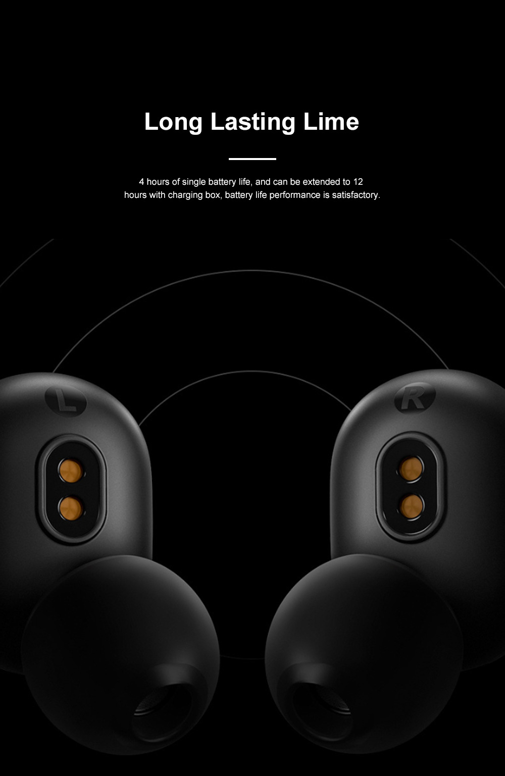 Redmi Airdots Bluetooth 5.0 Wireless Headset Fast Connecting Earphone with Charging Case and Voice Control 5