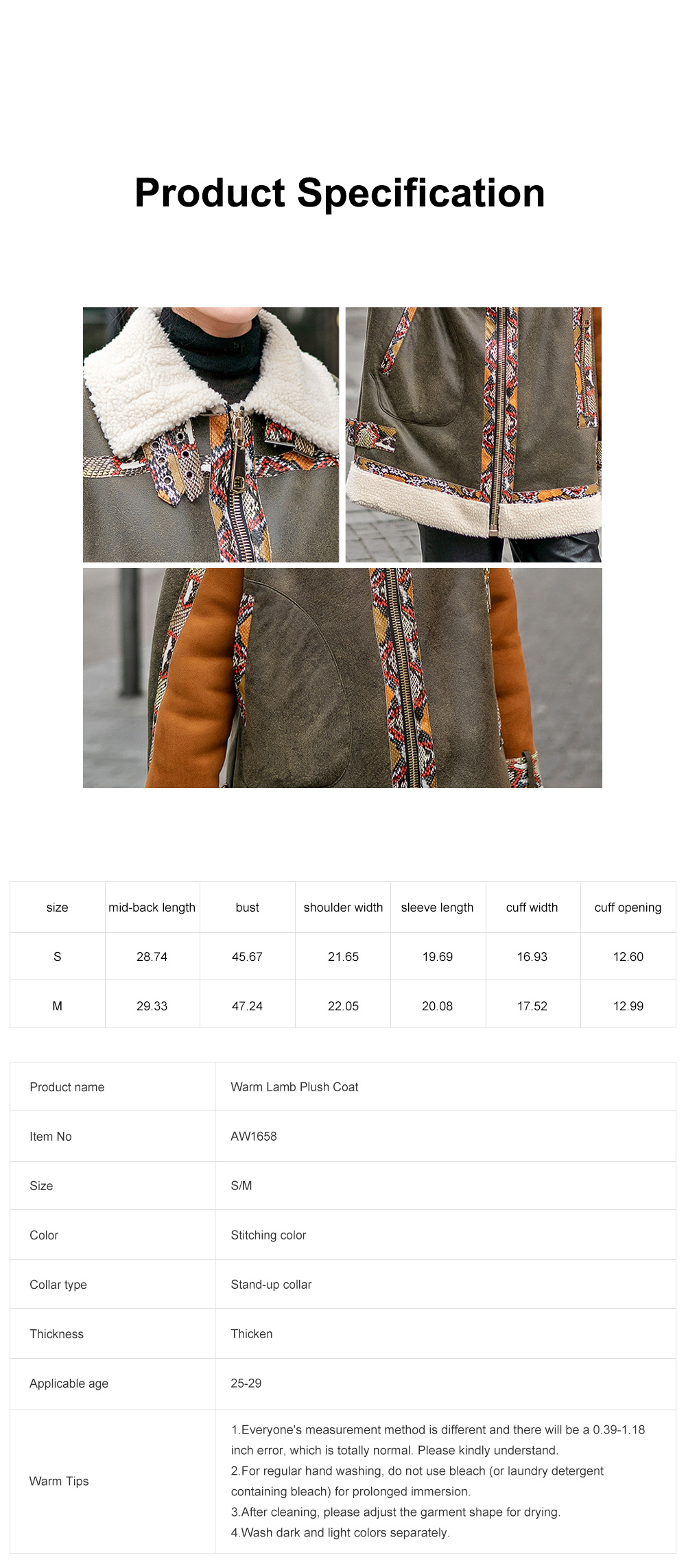 Short Lamb Coat for Women Oversized Zip Up Outwear for Cold Winter Cool Thicken Motorcycle PU Leather Jackets for Ladies 6