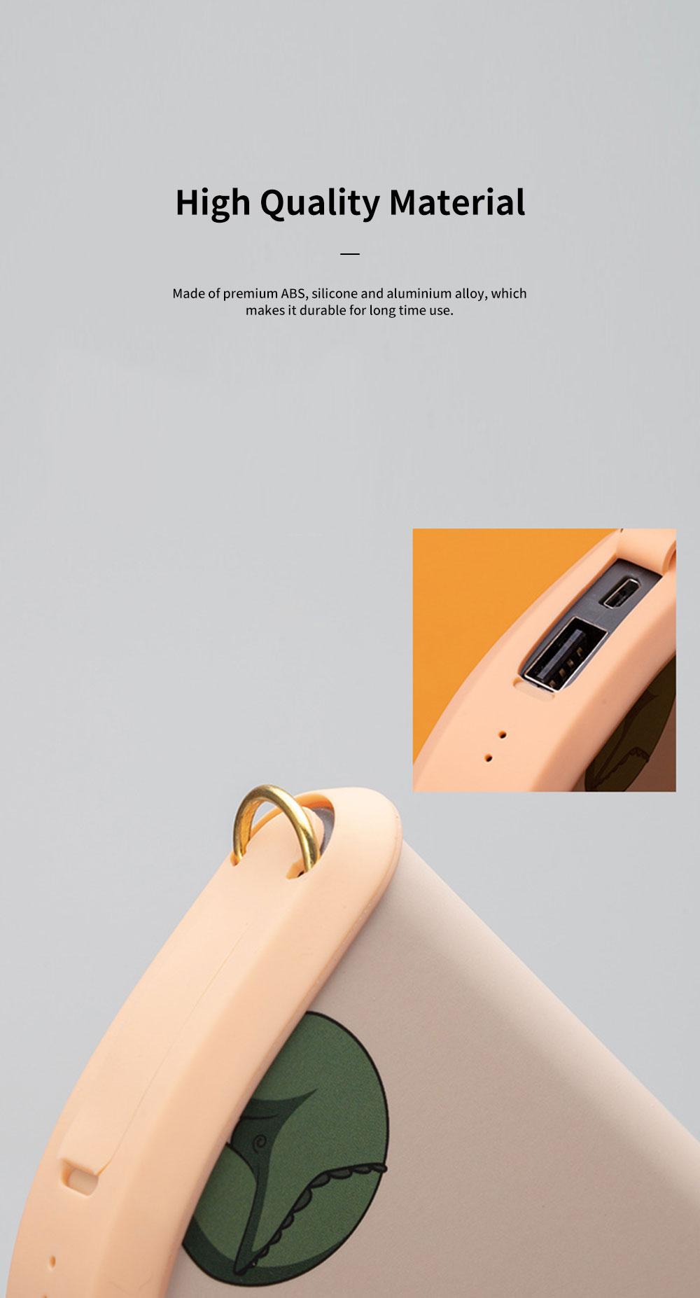 Portable Handbag Hand Warmer Unique Shoulder Bag-shaped Hands Warm Elf with 5000mAh Battery and USB Port for Phone Charging 6