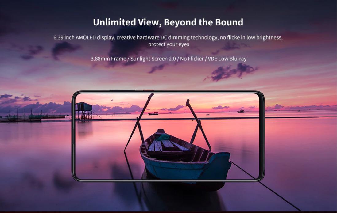 Xiaomi Redmi K20 Pro 6.39 Inch Screen 4G Phablet Exclusive Edition Qualcomm Snapdragon 855 Plus Octa Core 12GB RAM 512GB ROM Smart Mobile Phone 20MP Camera 10