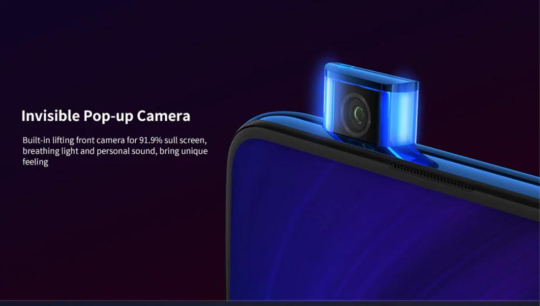 Xiaomi Redmi K20 Pro 6.39 Inch Screen 4G Phablet Exclusive Edition Qualcomm Snapdragon 855 Plus Octa Core 12GB RAM 512GB ROM Smart Mobile Phone 20MP Camera 9