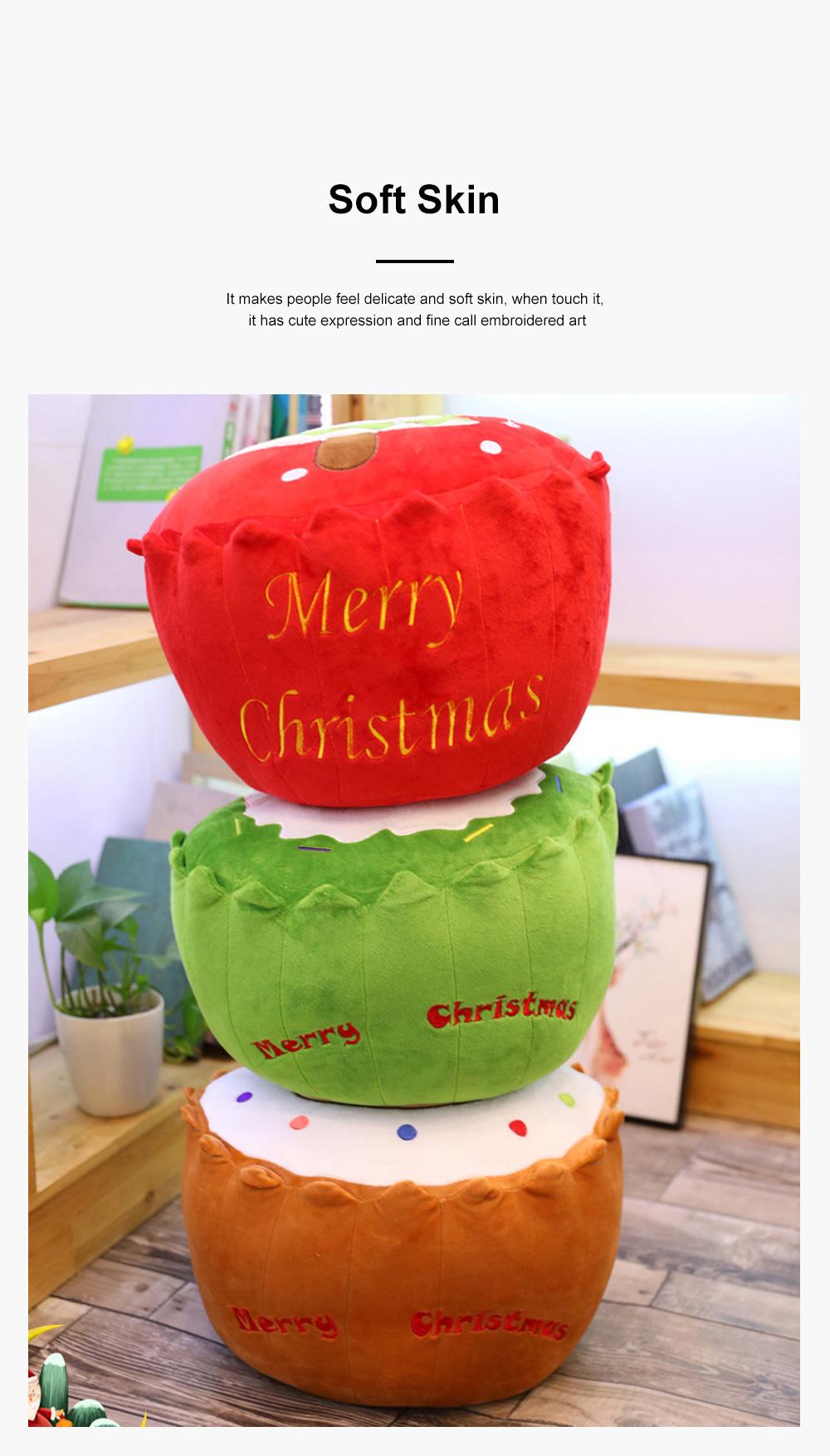2019 Christmas Pillow Plush Pendant Tree Santa Claus Elk Xmas Tree Plush Toy Christmas Decoration 5