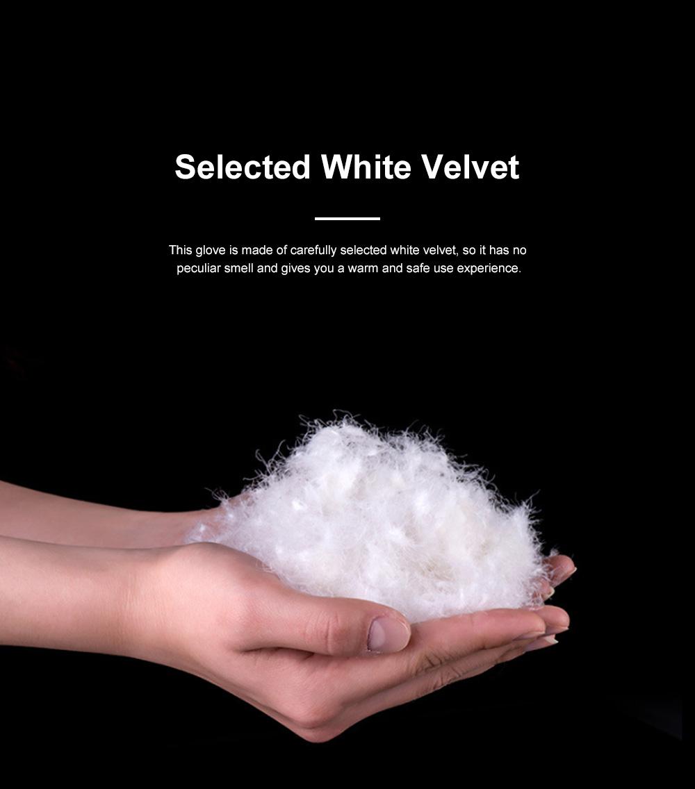 Naturehike White Velvet Gloves Outdoor Gloves Warm Winter Gloves Ski Cold Proof Mittens 2