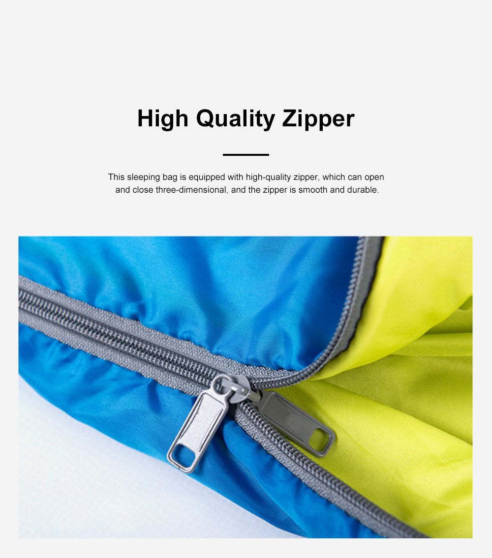Naturehike Sleeping Bag for Two Adult Outdoor Camping Tent Cotton Sleeping Bag for Lunch Break in Four Seasons Office 4