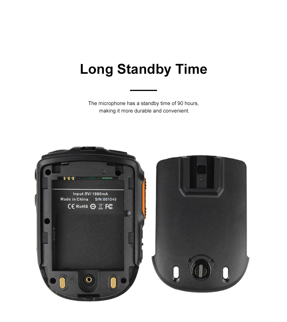 Interphone Microphone Android IOS Mobile Phone Bluetooth Headset Wireless Interphone Handset ZELLO Public Network Portable Walkie Talkie 3