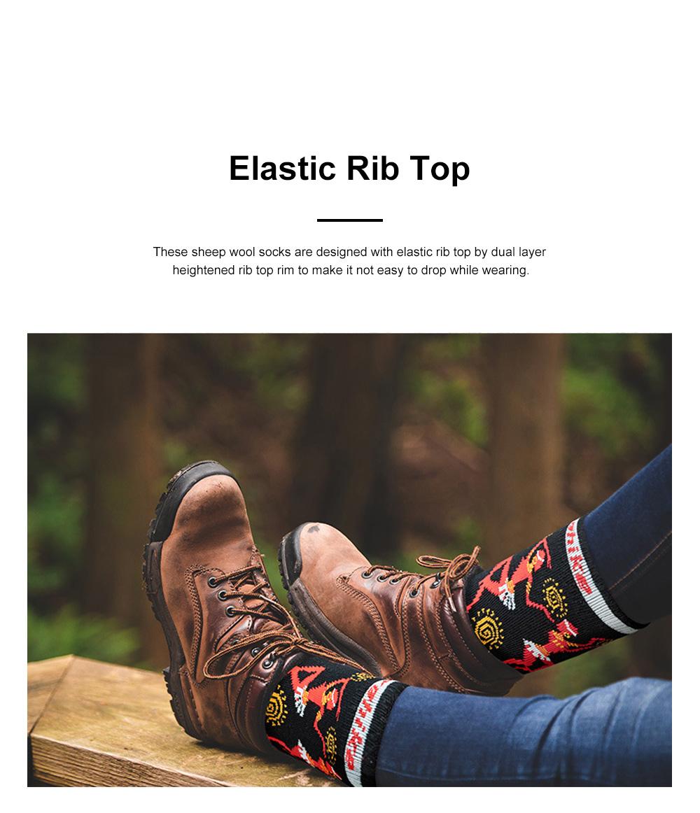 Naturehike Travelling Socks for Multiple Outdoors Activities Merino Sheep Wool Socks Breathable and Moisture-wicking Sports Socks 3