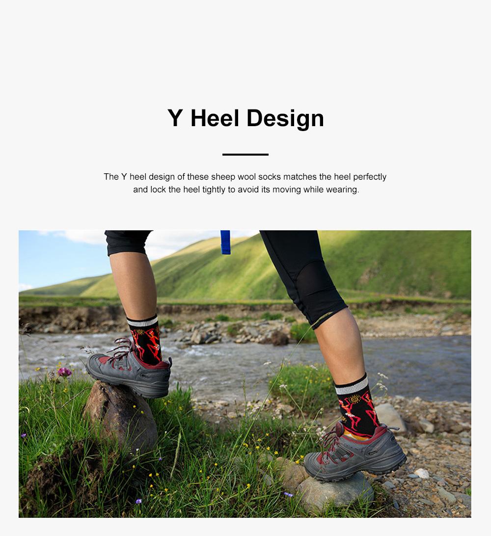Naturehike Travelling Socks for Multiple Outdoors Activities Merino Sheep Wool Socks Breathable and Moisture-wicking Sports Socks 6