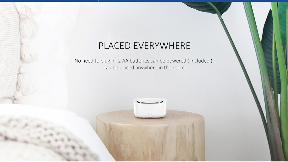 Xiaomi Portable Intelligent Smart Mijia Mosquito Repellent Device with Physical Mosquito Killing Easy Operation Long-lasting Battery Type 5