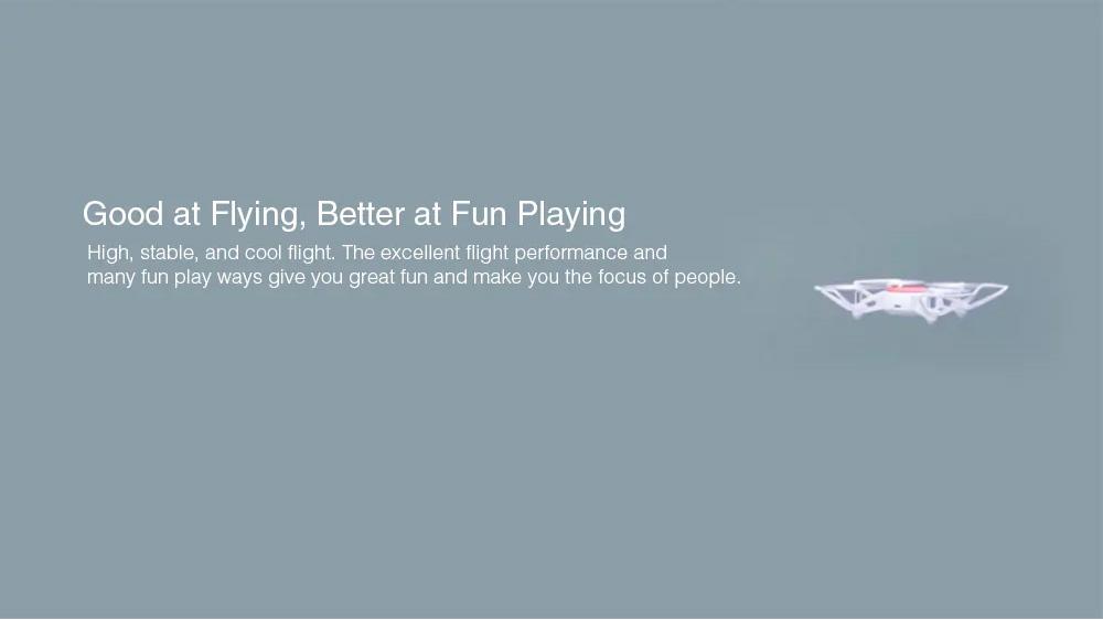 Xiaomi Portable Functional Quadcopter with Mini RC Drone WiFi FPV 720P HD Camera Headless Mode Precision Hover White 2