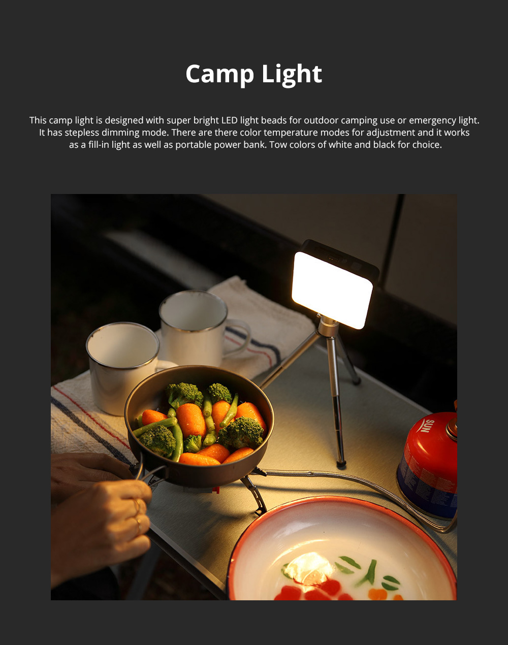 Naturehike Super Bright LED Lamp Camp Lantern for Outdoors Camping Portable Emergency Light Rechargeable Hand Carry LED Light 0