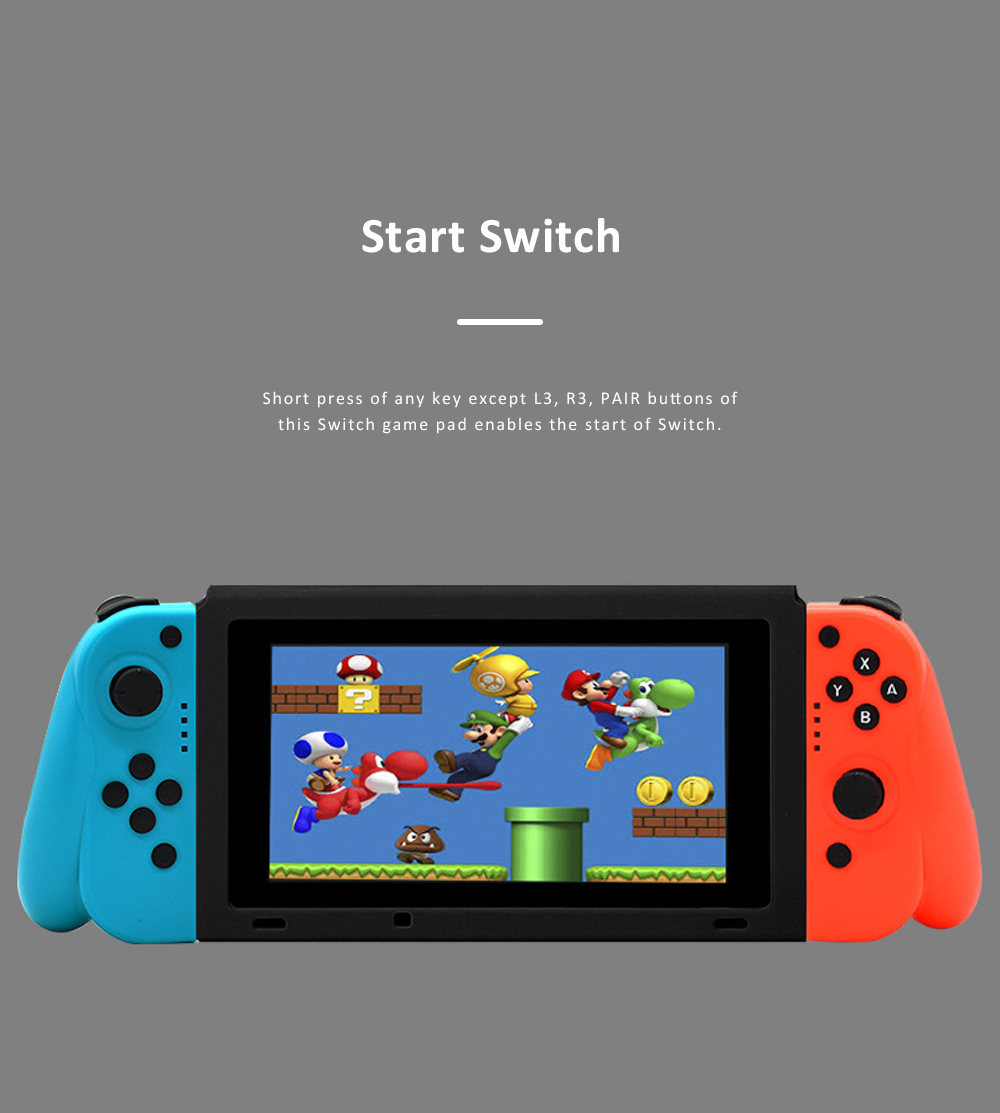 Left and Right Bluetooth Game Handle for Switch Game Machine Separated Repeating Vibrating Game Controller Wireless Joy-con Screen Shot Handles 7