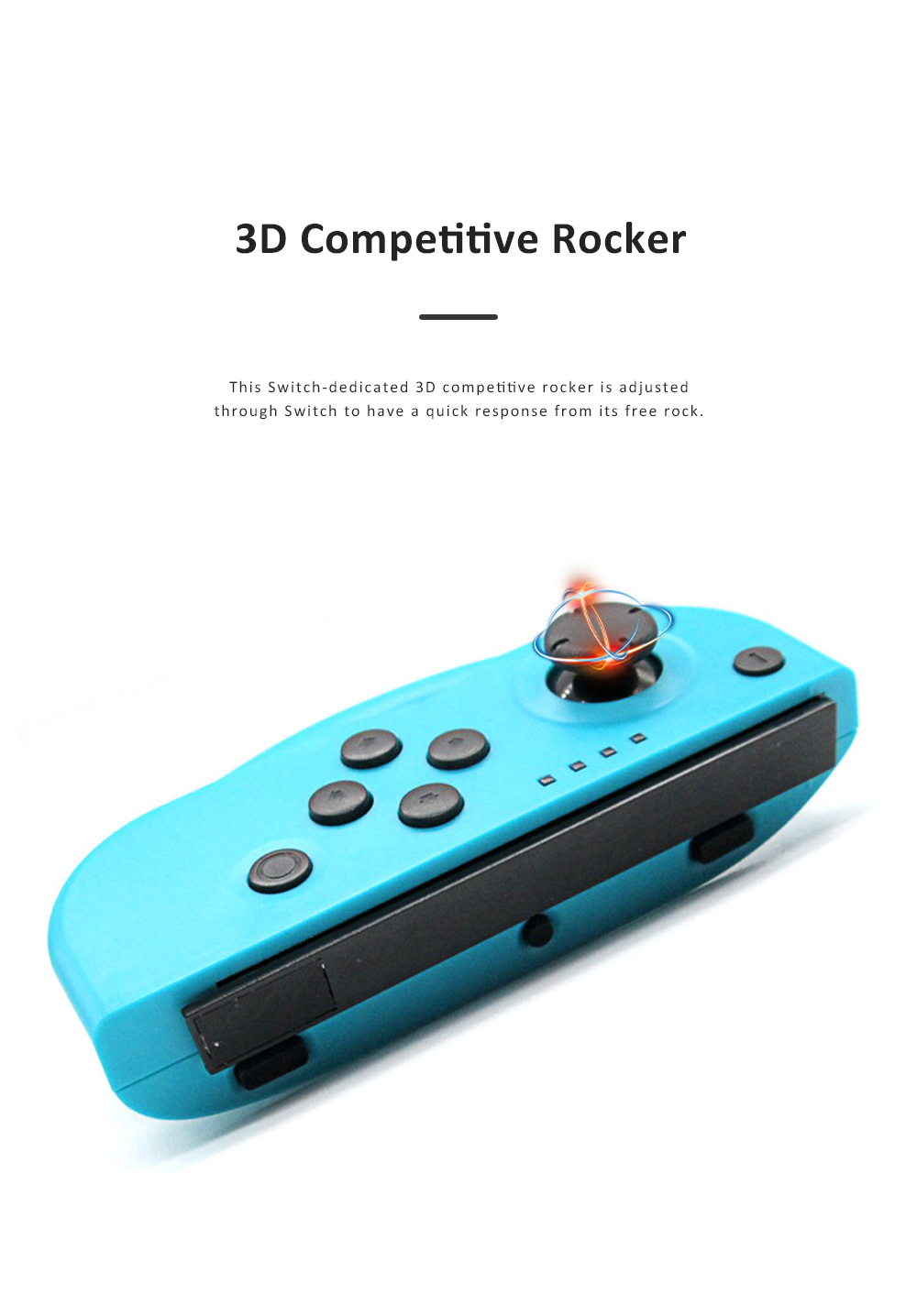 Left and Right Bluetooth Game Handle for Switch Game Machine Separated Repeating Vibrating Game Controller Wireless Joy-con Screen Shot Handles 3