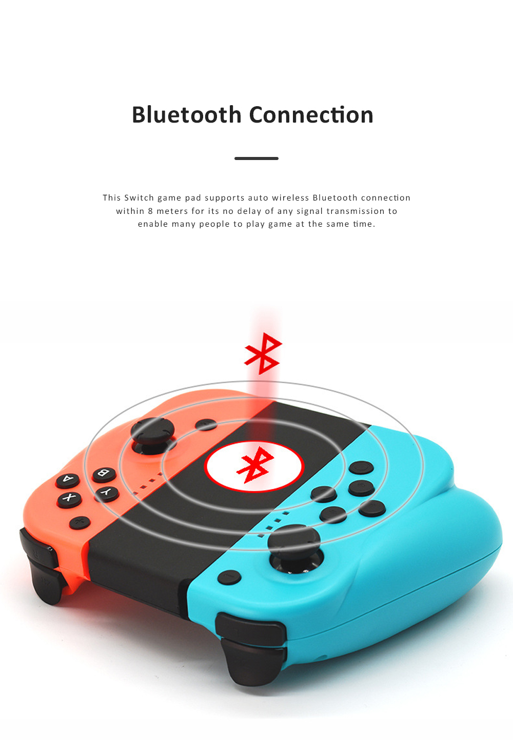 Left and Right Bluetooth Game Handle for Switch Game Machine Separated Repeating Vibrating Game Controller Wireless Joy-con Screen Shot Handles 6