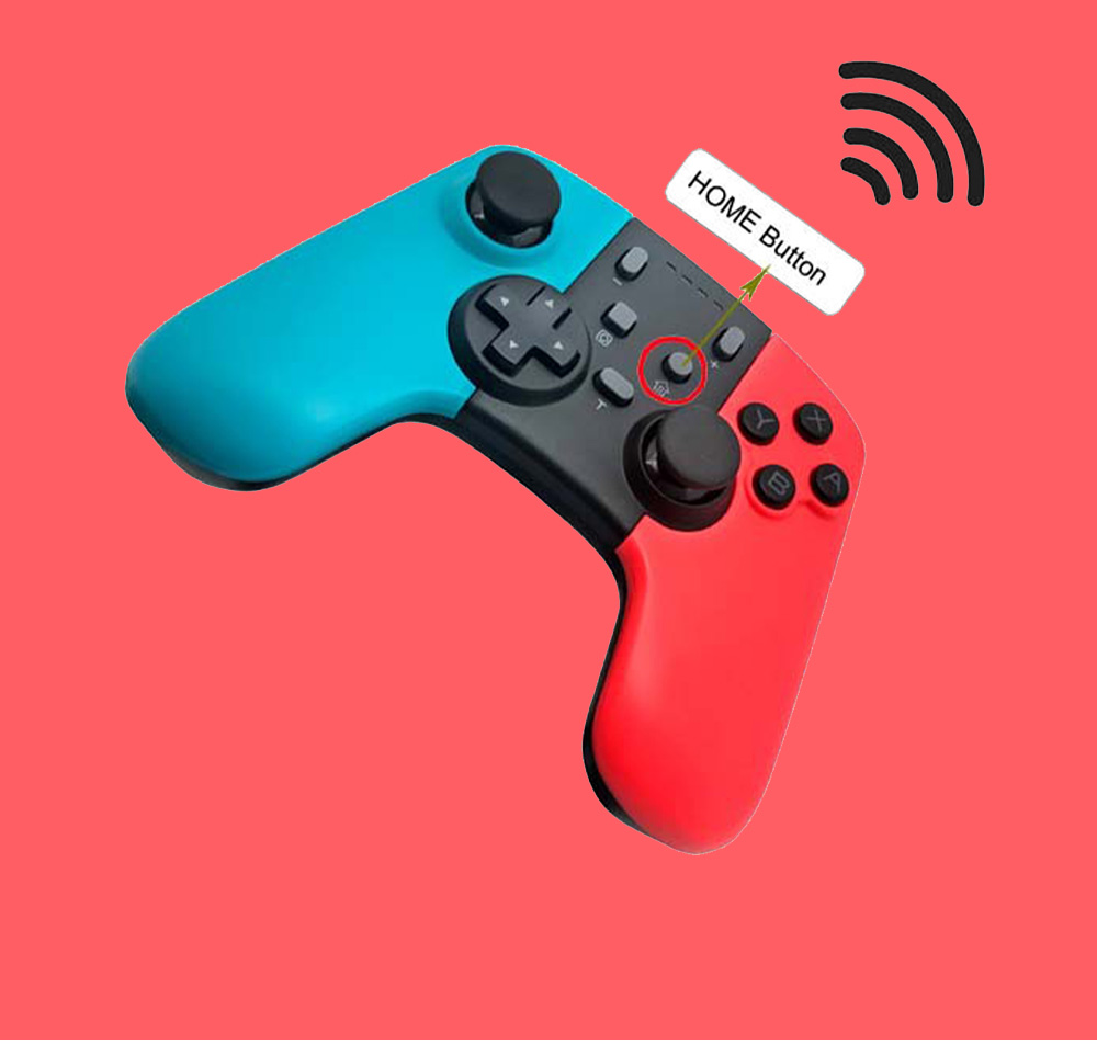 Wireless Game Handle Suitable for Switch and Lite Game Console Handle Bluetooth Wireless Handle PS4 XBO X360 Handle 4