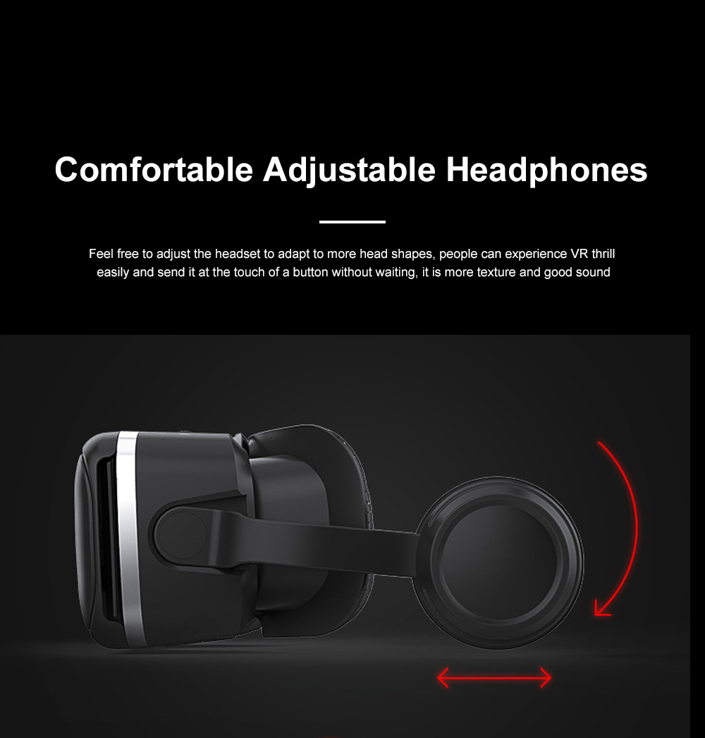 Original VR Shinecon SC-G04E New Arrive Virtual Reality Googles 3D Glasses For VR Games Movies Work With iPhone And Android 5